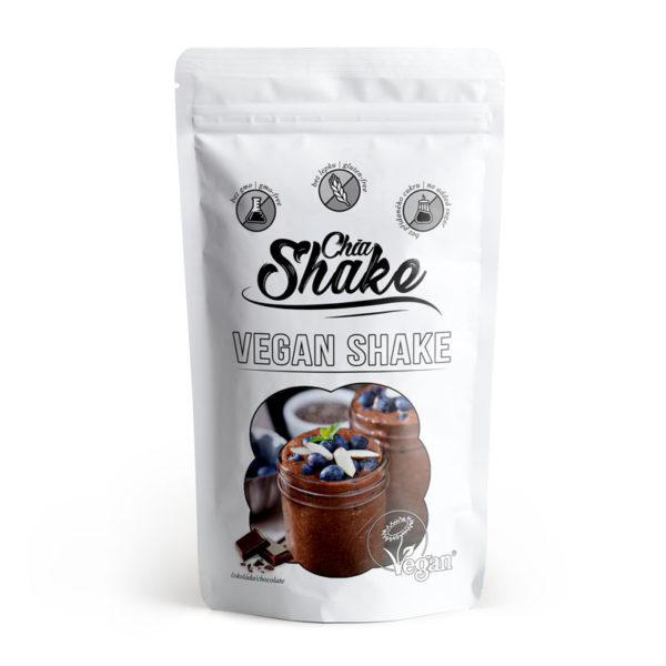 vegan shake čokoláda chia shake