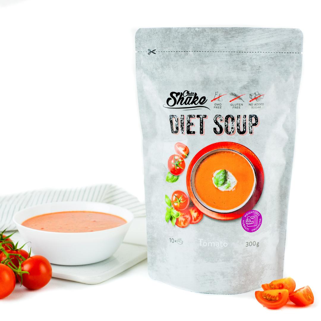 rajská dietní polévka chia shake