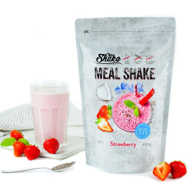 Chia Meal Shake Jahoda