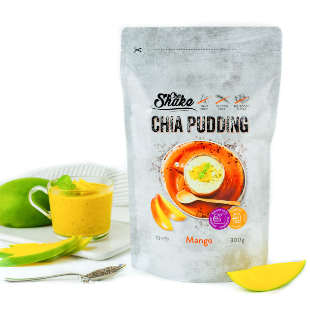Chia pudink mango