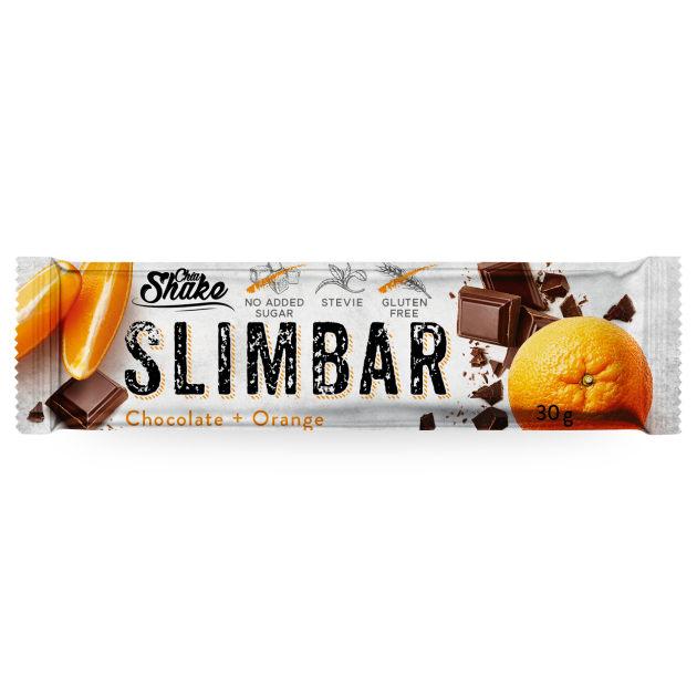 slimbar Proteinová tyčinka čokoláda pomeranč