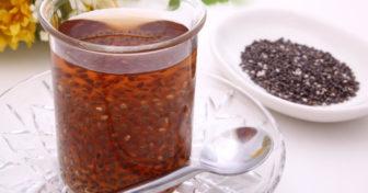 chia čaj nebo káva