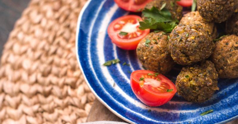 chia falafel recept