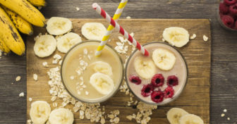 proteinové nápoje chia shake