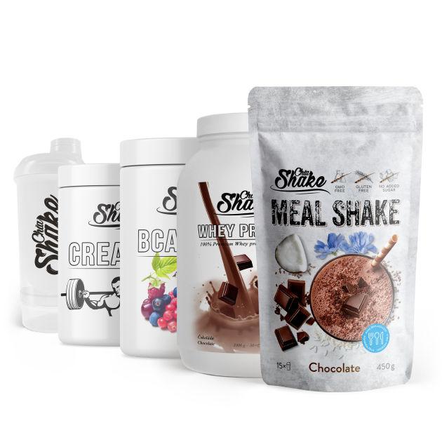 malý fitness balíček od chia shake
