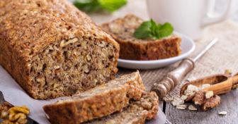 recept ořechový chléb s chia semínky