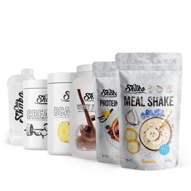 střední fitness balíček od chia shake