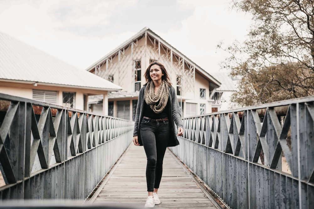 dívka na mostě počítání a interpretace BMI