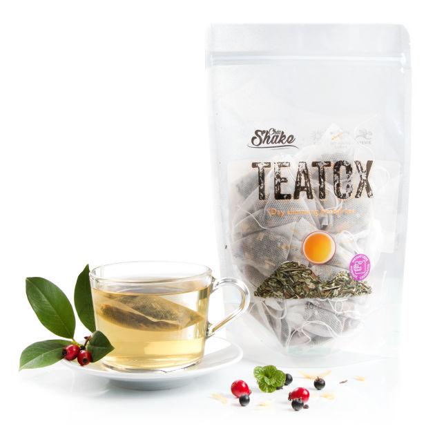 ranní teatox čaj na hubnutí