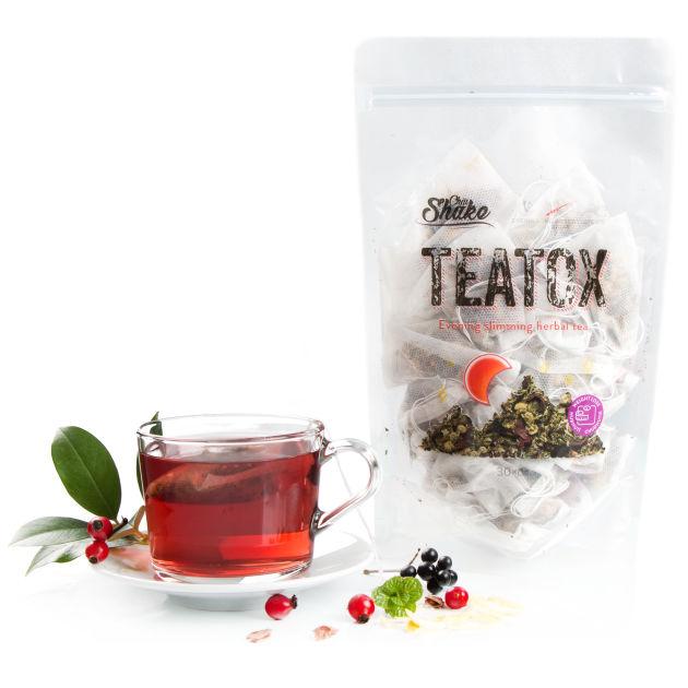 teatox večerní čaj na hubnutí