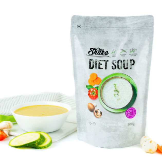 zeleninová polévka chia shake