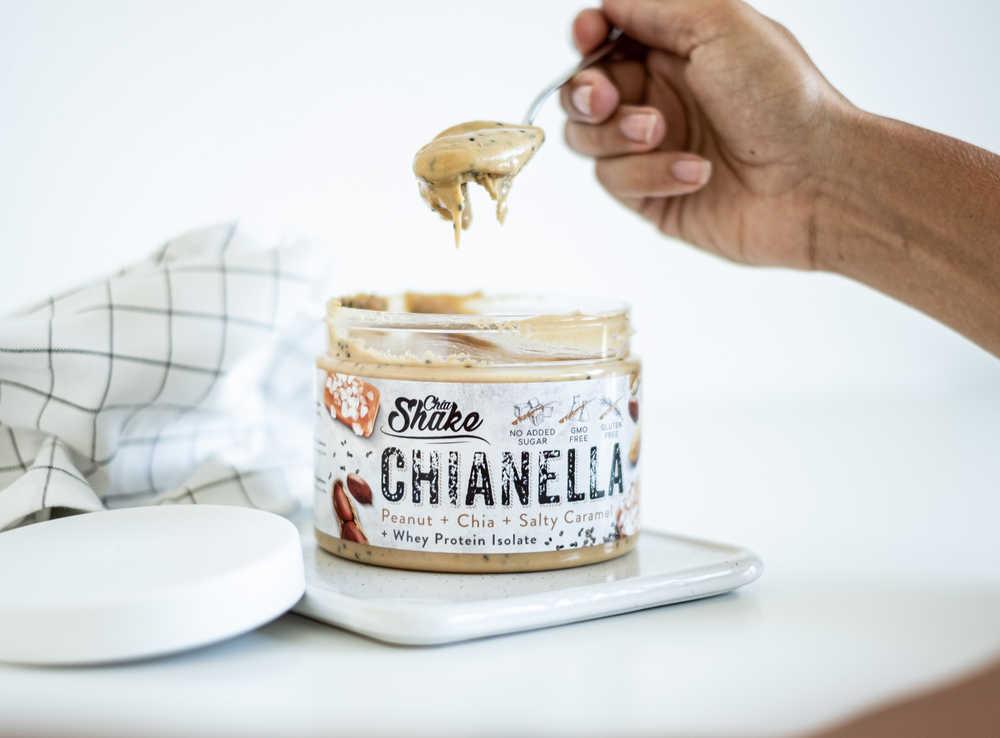 chianella proteinové arašídové máslo