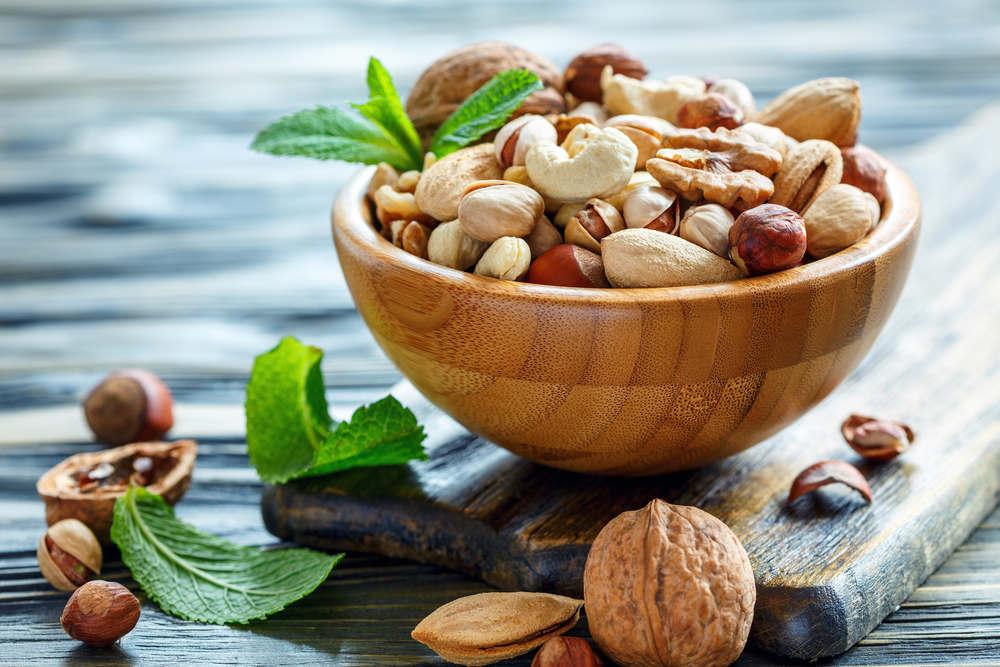 ořechy při keto dietě
