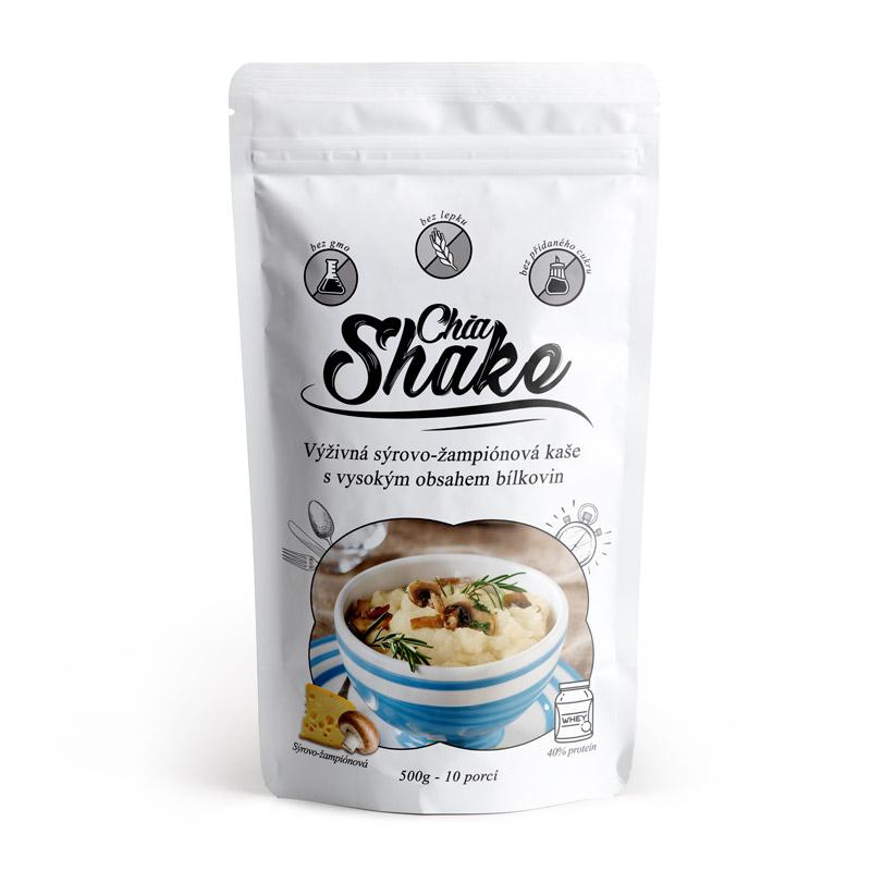 Levně Chia Shake Proteinová kaše Sýrová 500g