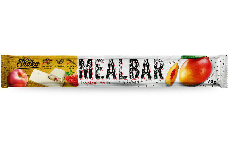 Levně Chia Shake Proteinová tyčinka MEALBAR Tropické ovoce 70g